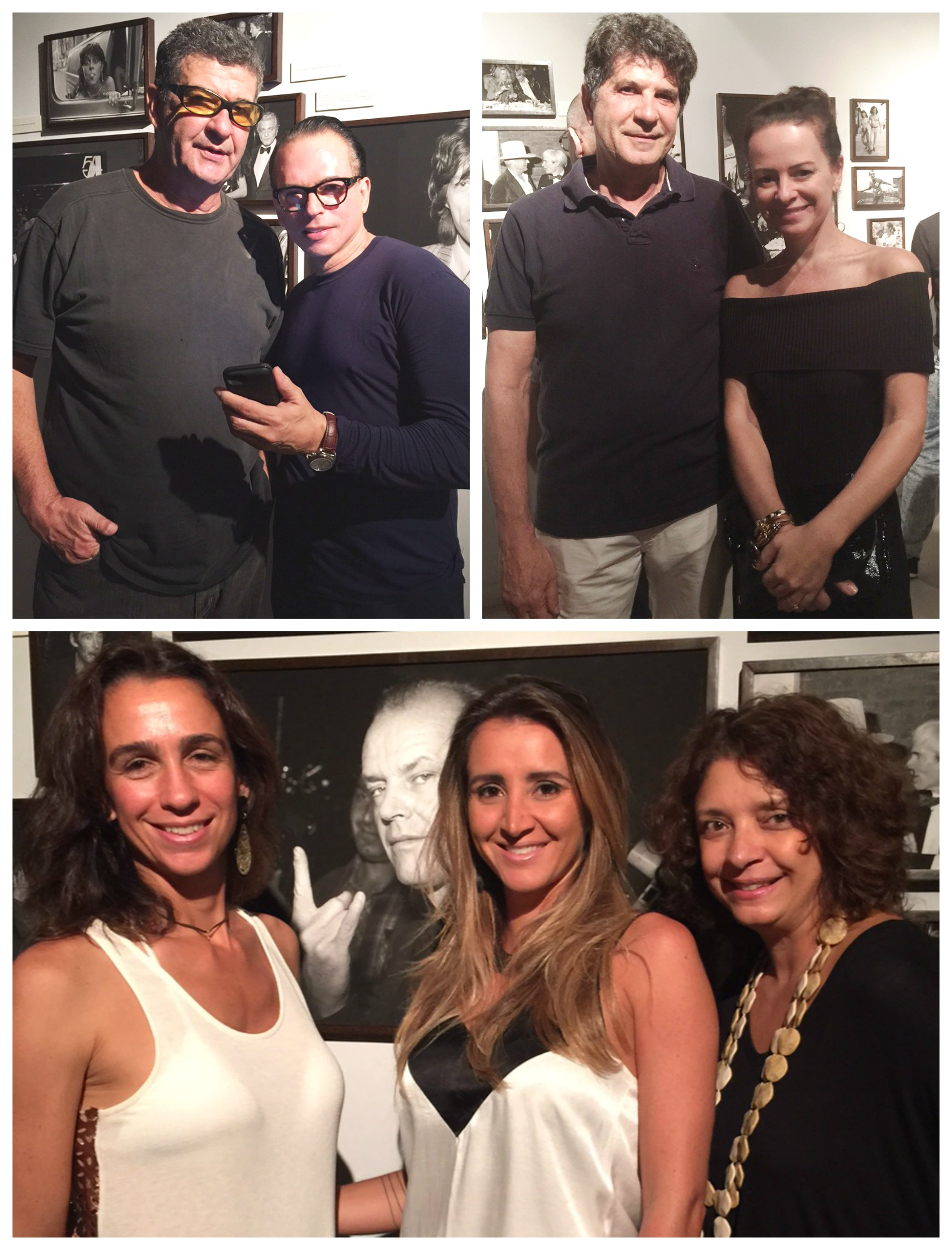 rui versiani e a estilista andrea marques; Mabel Graham Bell, Gabriela Eloy e Cristina Alho (2)