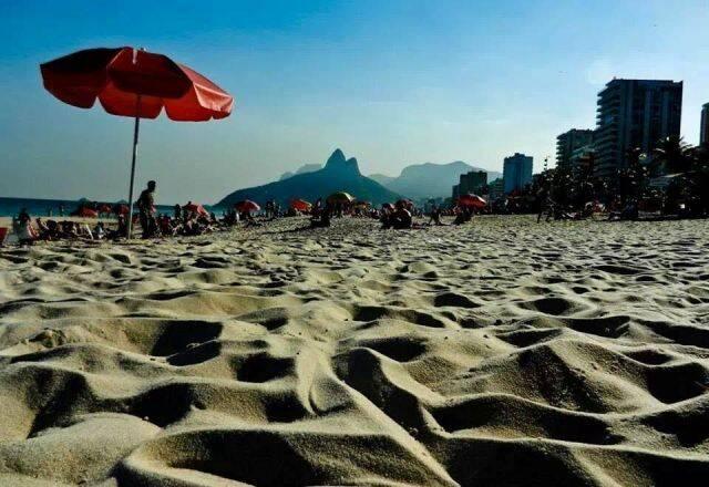 Areias completamente limpas: sonho de muitos cariocas / Foto: divulgação