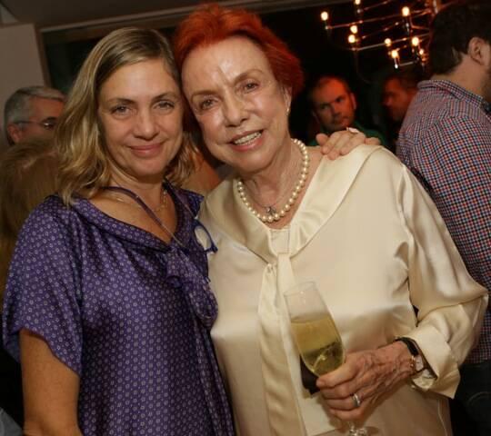 Carla Camurati e Lucy Barreto celebram a chegada do MIMO Festival ao Rio de Janeiro em jantar (crédito Giane Carvalho)