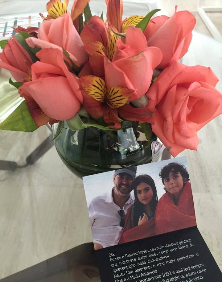 Thomaz Naves: diretor da TV Record, mandou entregar flores nos 60 apartamentos dos novos vizinhos