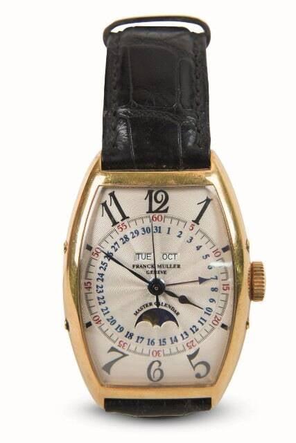 Relógio Franck Muller: Wilker adorava relógios, comprados em joalherias cariocas / Foto: divulgação