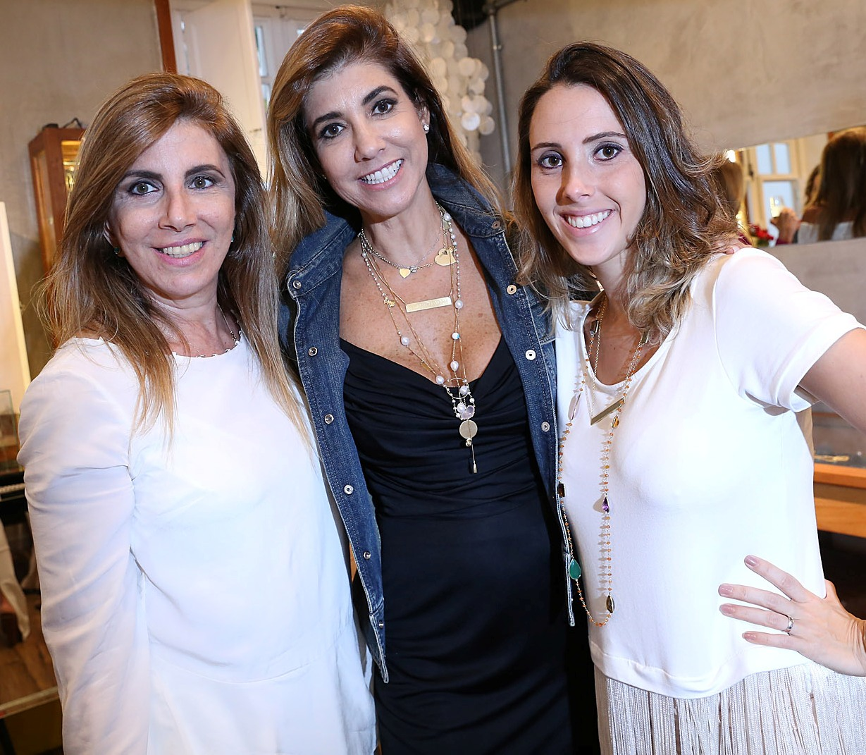 Da esquerda para direita: Ana Grynberg, Gorette Colaço e Natalia Zimmerman / Foto: Murillo Tinoco - AGi9