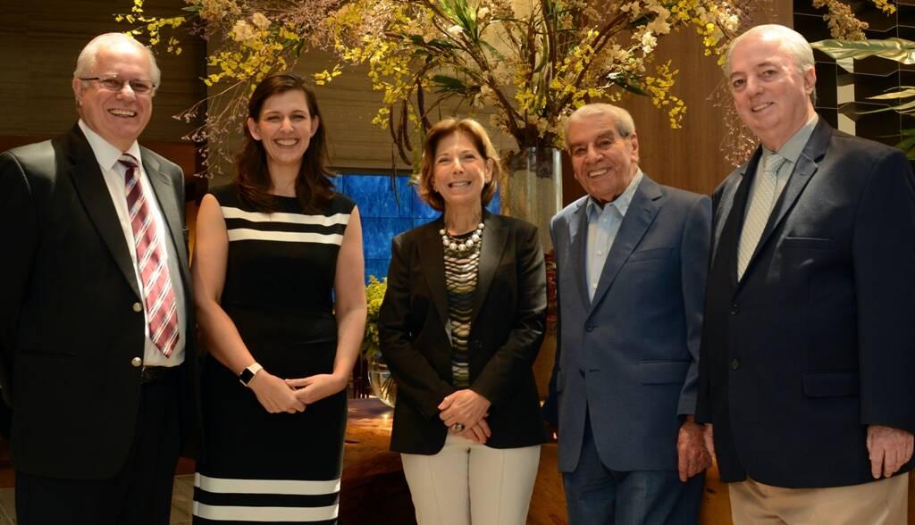 Paulo Senise,Laura Castagnini, Maria Lucia Horta, Carlos Fernando de Carvalho e Nilo Sérgio Félix