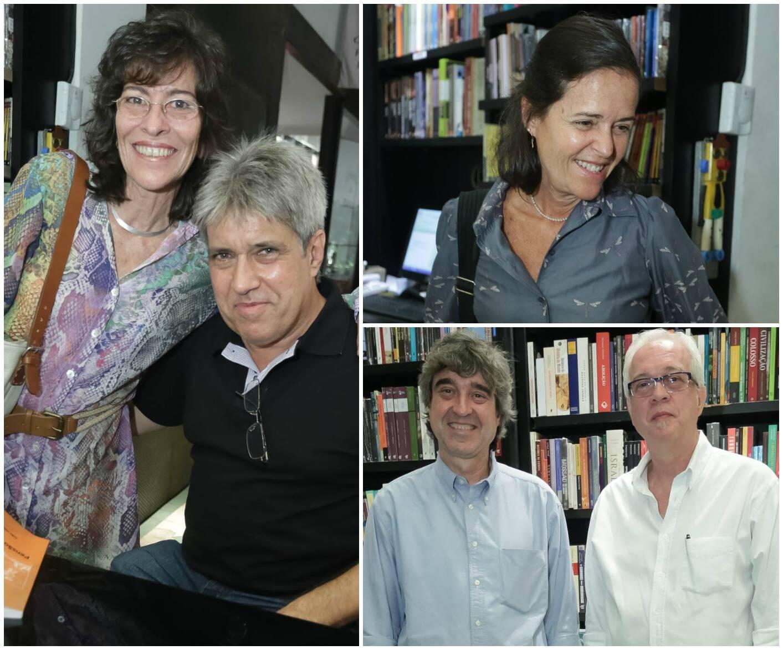 No sentido horário: Martha Carvalho e João Vasconcellos; Suzana didier; Aluísio Didier e Eduardo Raposo / Fotos: Divulgação