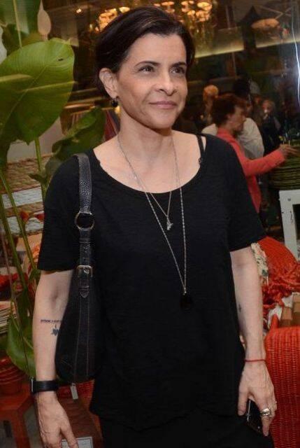 Marina Lima - morando em São Paulo há um certo tempo - a cantora se apresenta nesta quarta e quinta-feiras, no Londra, no Hotel Fasano / Foto: Vera Donato