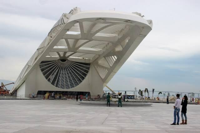 Museu do Amanhã: tudo pronto para a inauguração, nesta quinta-feira / Foto: reprodução da internet