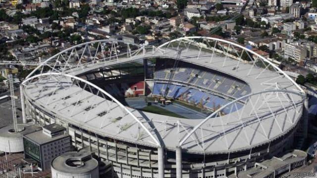 Engenhão: interdição do estádio por quase dois anos poderia ter sido evitada, segundo equipe de engenheiros / Foto: reprodução da internet