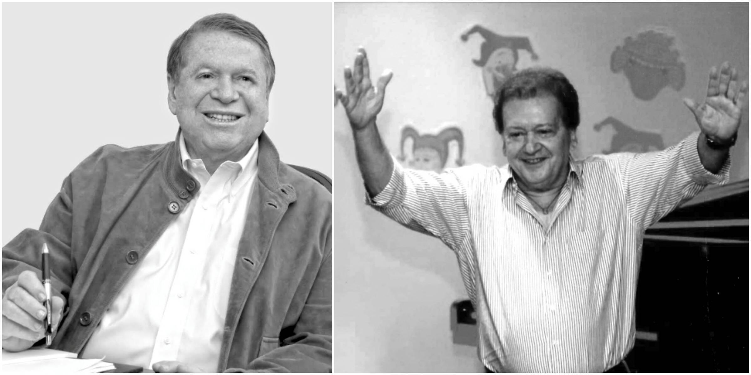 Boni de Oliveira e João Roberto Kelly: amizade antiga / Fotos: reprodução da internet