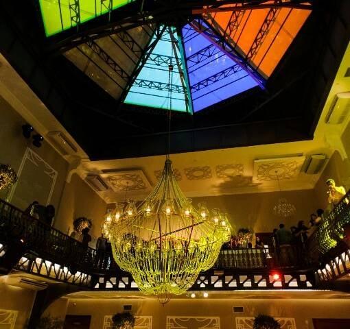 A cúpula restaurada da casa de eventos, assinada pelo engenheiro Gustave Eiffel / Foto: RvonKruger