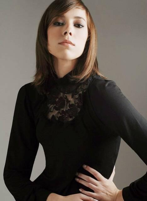 Marcela Sperandio, em foto da época de modelo / Foto: divulgação