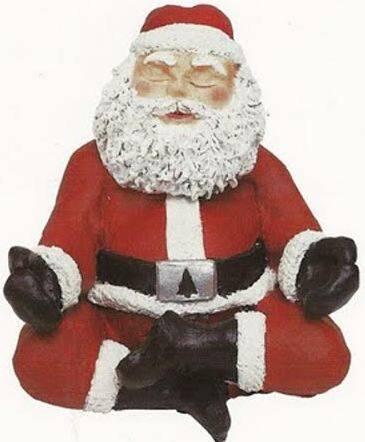 Papai Noel: olha o figurino, talvez para se defender do Natal brasileiro este ano