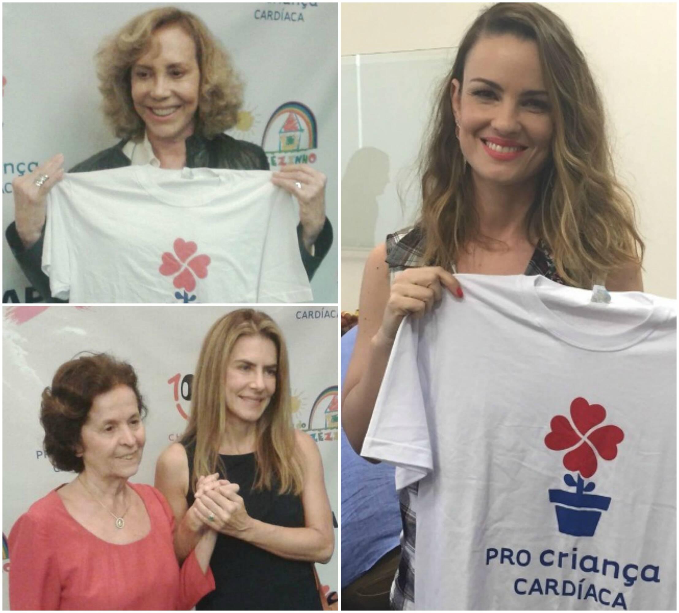 Em sentido horário: Arlete Salles; Carolina Kasting; a dra. Rosa Célia e Maitê Proença / Fotos: divulgação