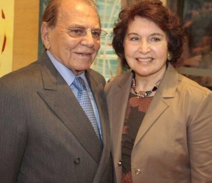 Marilu e Ivo Pitanguy: casal está comemorando bodas de diamante (60 anos de casados), nesta terça-feira / Foto: Fred Pontes