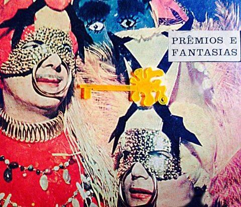Capa de um dos convites do Baile do Sarongue: destacada, em amarelo, a chave da cidade, dada para todo folião que frequenta a festa / Foto: reprodução do Facebook
