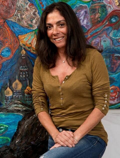 Ana Luiza Rego: artista plástica vai fazer contatos em Nova York