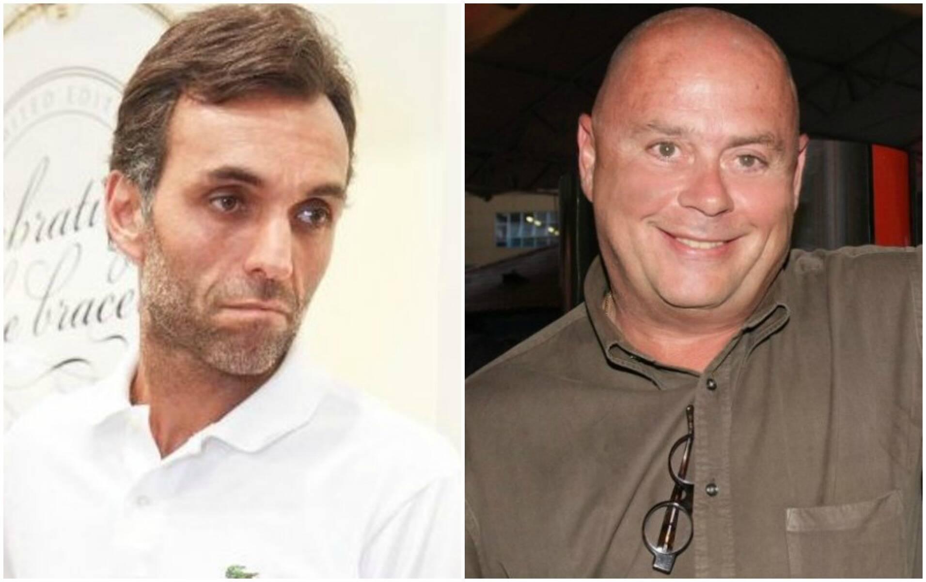 Ike Cruz, empresário de Juliana Paes, e Zé Victor Oliva: temperatura subiu em discussão virtual / Fotos: divulgação