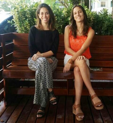 Renata Tasca e Myrtes Mattos: pela multiplicação de parklets pela cidade carioca / Foto: divulgação