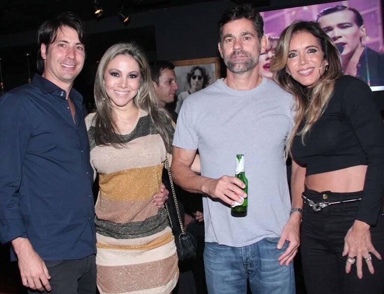 Renato Quadrado,Alessandra Amaral.,Beto Brito e Patricia Malta -foto Veronica Pontes