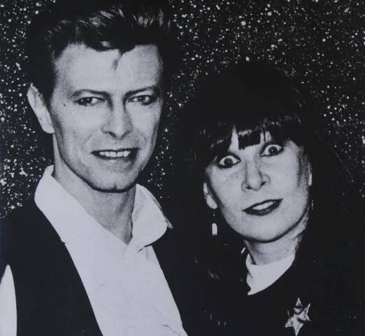 David Bowie e Rita Lee: unidos pelo mesmo sobrenome, Jones, e pela irreverência / Foto: divulgação