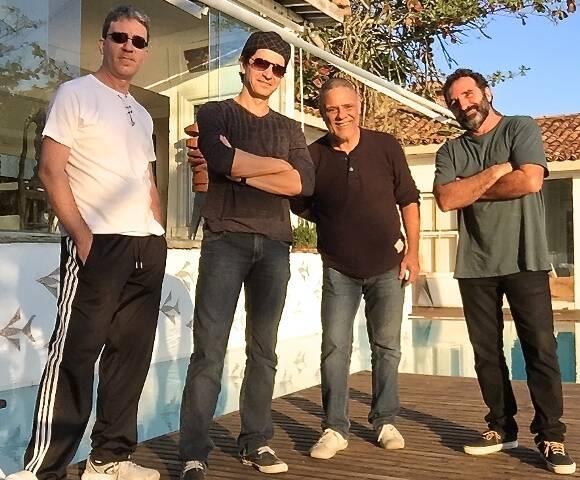 Os músicos Edu Gama, Marcio Castro, Paulo Pessanha e Edgar Duvivier: um ótimo espetáculo de verão a caminho / Foto: divulgação