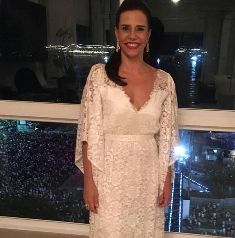 Narcisa Tamborindeguy: a anfitriã vai ter de reformar o piso do apartamento, depois da festa de Réveillon