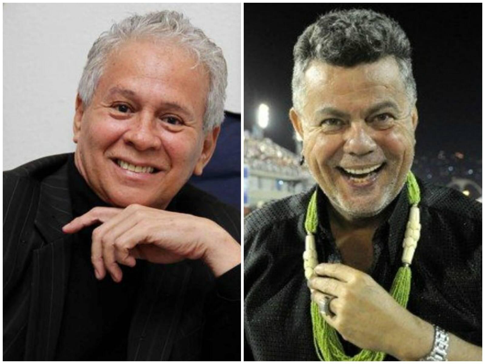 Ricardo de la Rosa e Milton Cunha: organizadores dos bailes gays do carnaval carioca / Foto: Facebook e O Dia