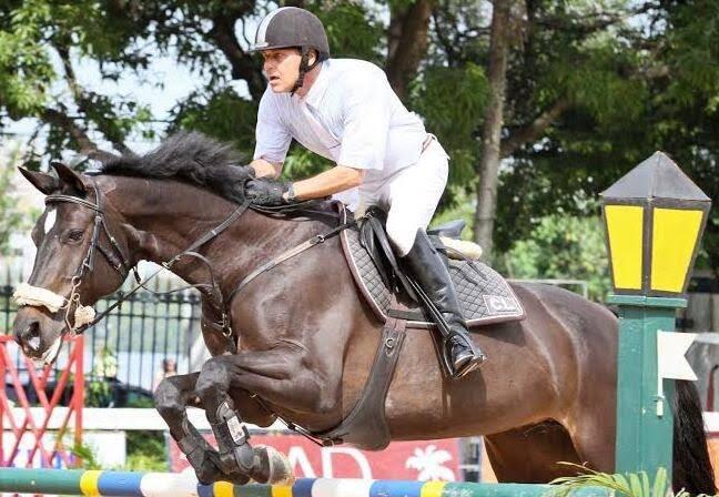 Carlos Eduardo Corrêa do Lago: um dos participantes do mais charmoso circuito de hipismo do Brasil - a Copa Carioca de Amadores e Cavalos Novos / Foto (arquivo Site Lu Lacerda)