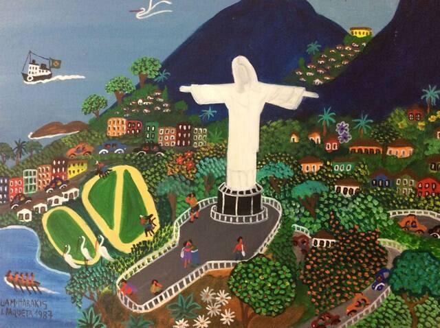 Cristo Redentor,  de Lia Mittarakis - 1987