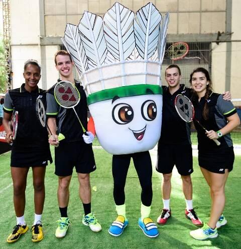 A mascote do esporte com atletas brasileiros: a Petekin vai desfilar com o bloco Vagalume O Verde / Foto: Tiago de Paula Carvalho