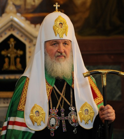 O Patriarca Ciril I chega nesta sexta-feira (19/02) á noite no Rio; domingo, vai estar em São Paulo, de onde retorna a Moscou / Foto: reprodução da internet