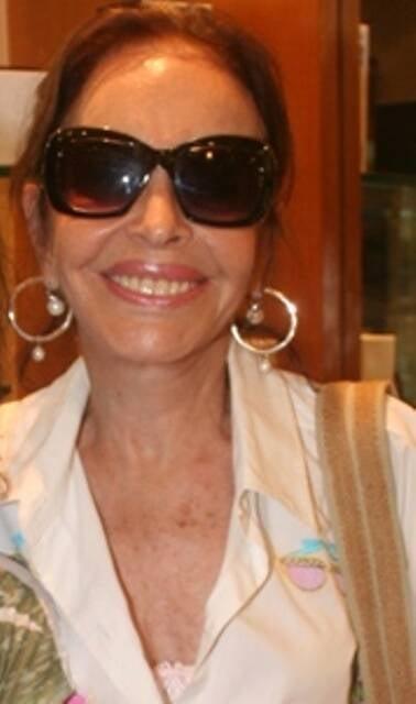 """Maria Thereza Goulart:  """"Com tanta roubalheira na Petrobras, penalizam logo uma viúva de um ex-presidente que não tem nada a ver com corrupção?"""" / Foto: Geraldo Valadares (arquivo Site Lu Lacerda)"""
