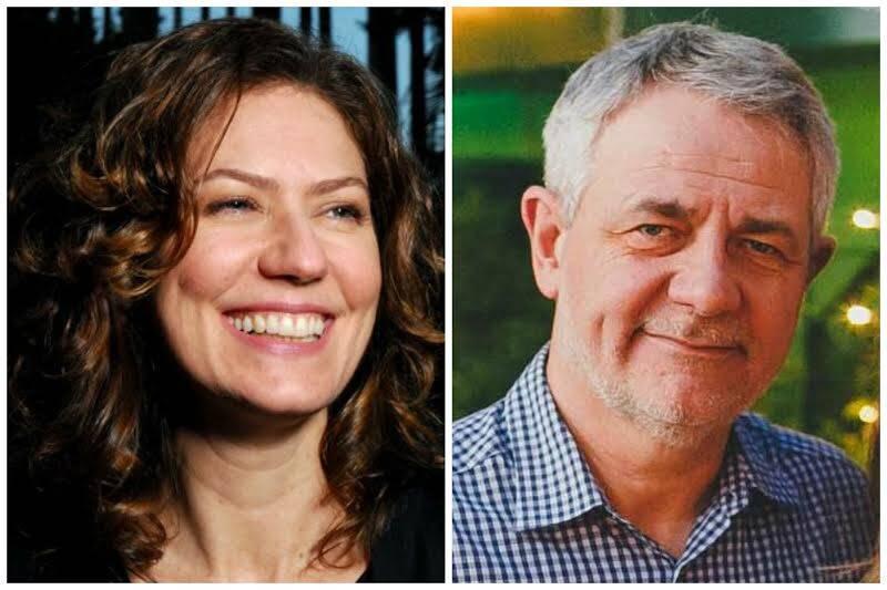 Patrícia Pillar e Carlos Henrique Schroder: a atriz e o jornalista estão namorando