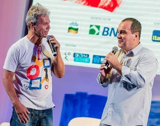 Júlio Ludemir e Écio Salles, os criadores da Flupp, Festa Literária das Periferias / Foto: reprodução do Facebook