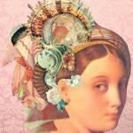 Colagem da artista Maria Valente