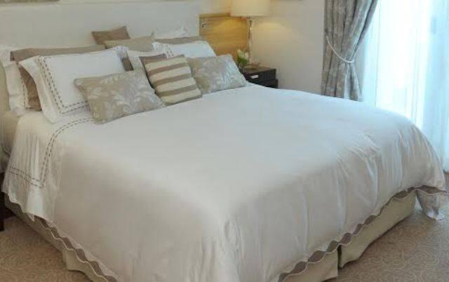 Copacabana Palace: colchas do hotel estão à venda na boutique / Foto: divulgação