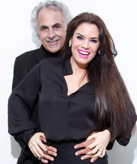 Anselmo Vasconcellos e Laura Proença: ele também é o diretor da comédia que estreia sexta-feira, na Sala Baden Powel, em Copacabana / Foto: divulgação