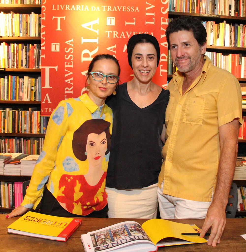 Mari Stockler, Fernanda Torres e Marcus Wagner