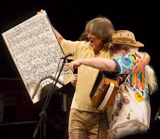 Itiberê e Hermeto: parceria musical e amizade que já dura 40 anos / Foto: divulgação