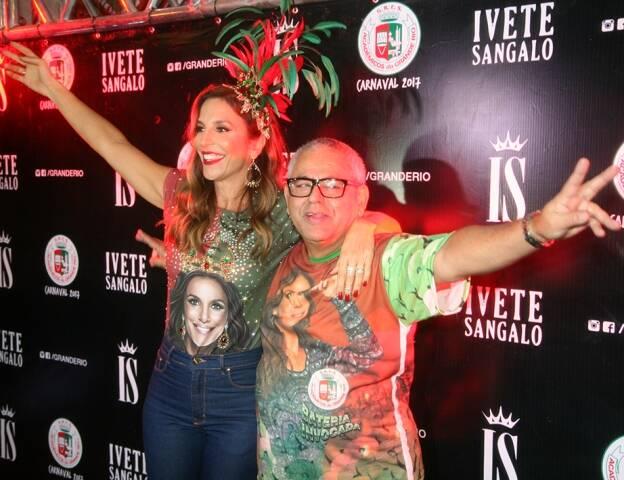 Ivete Sanglo e Pres. Jayder Soares