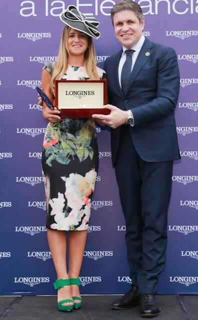 A vencedora em elegância do mesmo Gran Prêmio, disputado, ano passado, em Buenos Aires / Foto: divulgação