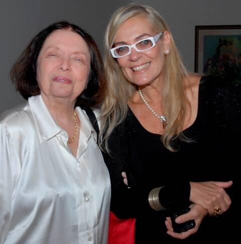 Nélida Piñon e Cristina Oldemburg (1)
