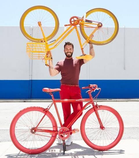 Lorenzo Martone mora atualmente em NY. de onde está operando seu novo negócio, dedicado às bicicletas com design / Foto: divulgação