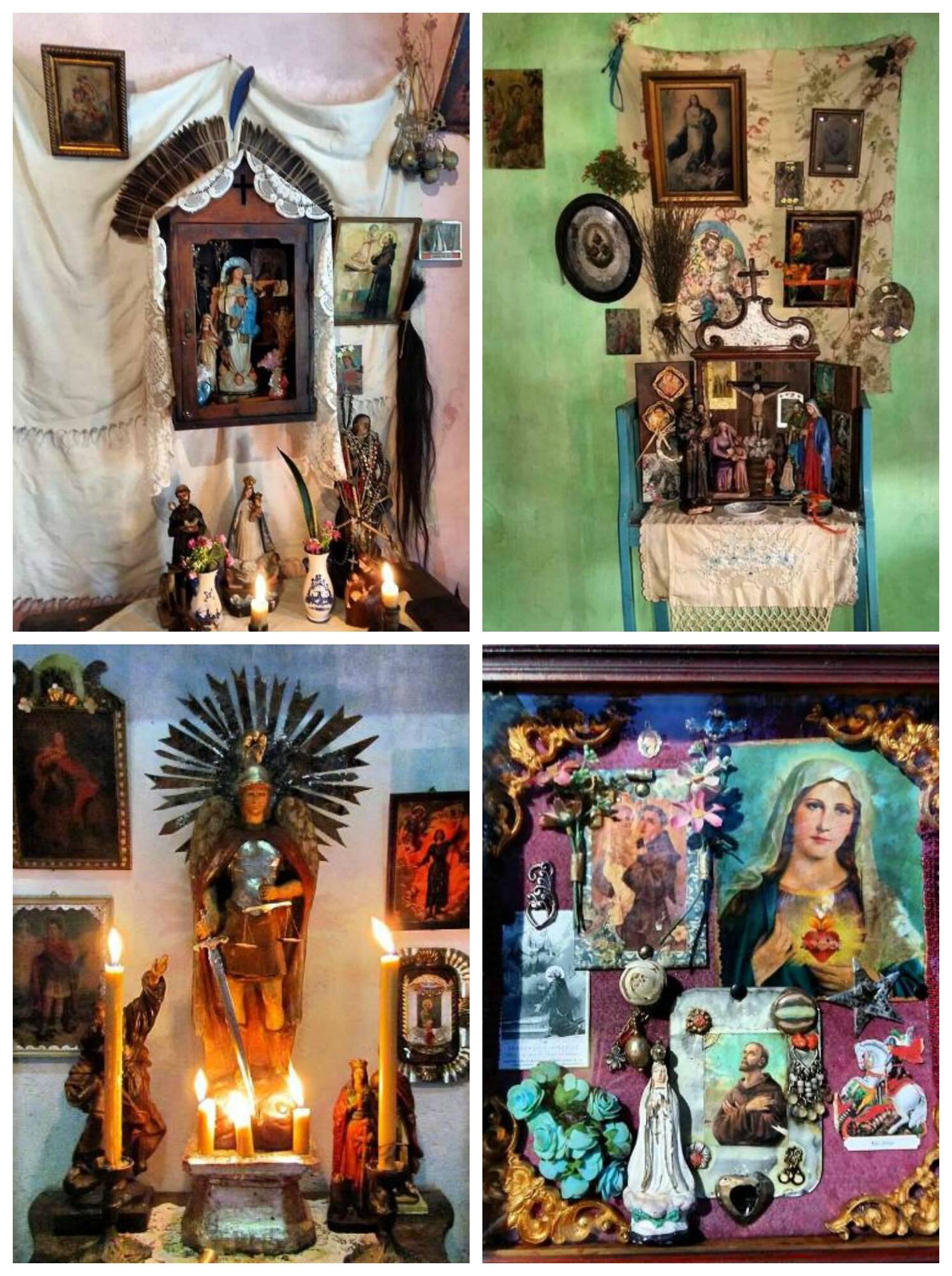 No alto, o artista Raimundo Rodriguez. Nestas fotos, seus trabalhos na novela Velho Chico/ Fotos: Divulgação