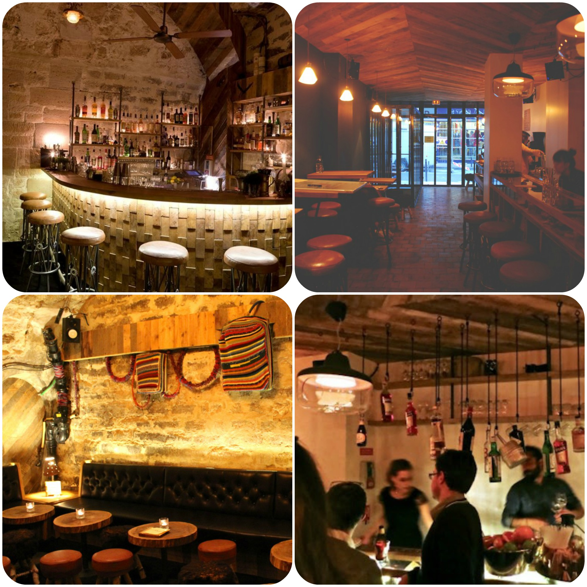 Decoração unerground, rock garage e vários drinks é o que define o clima subversivo do bar Lockwood