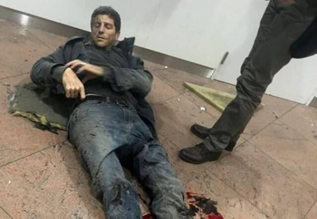 Sebastien Bellin: paulista, naturalizado belga, de 37 anos, uma das vítimas do atentado / Foto: reprodução redes sociais