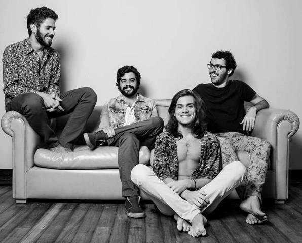 No alto, a banda Nitú; acima, os rapazes da banda Baltazar: os dois grupos se apresentam sexta, na Casa da Gávea / Fotos: divulgação