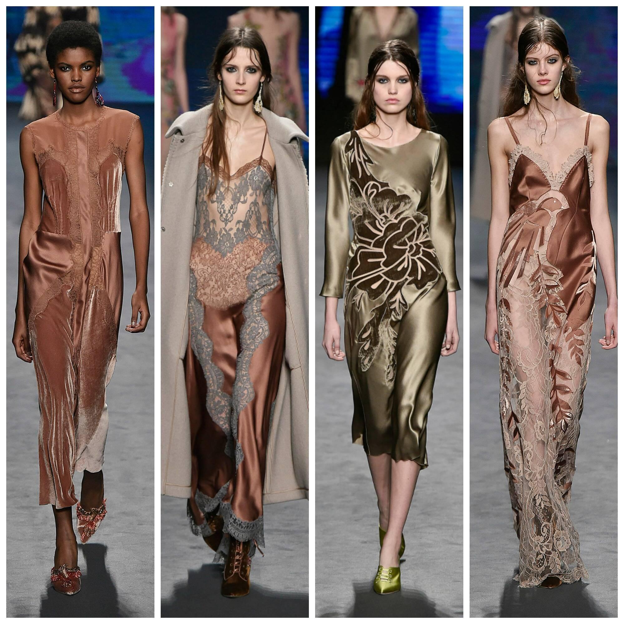 coleção de pijamas da marca da estilista Alberta Ferretti