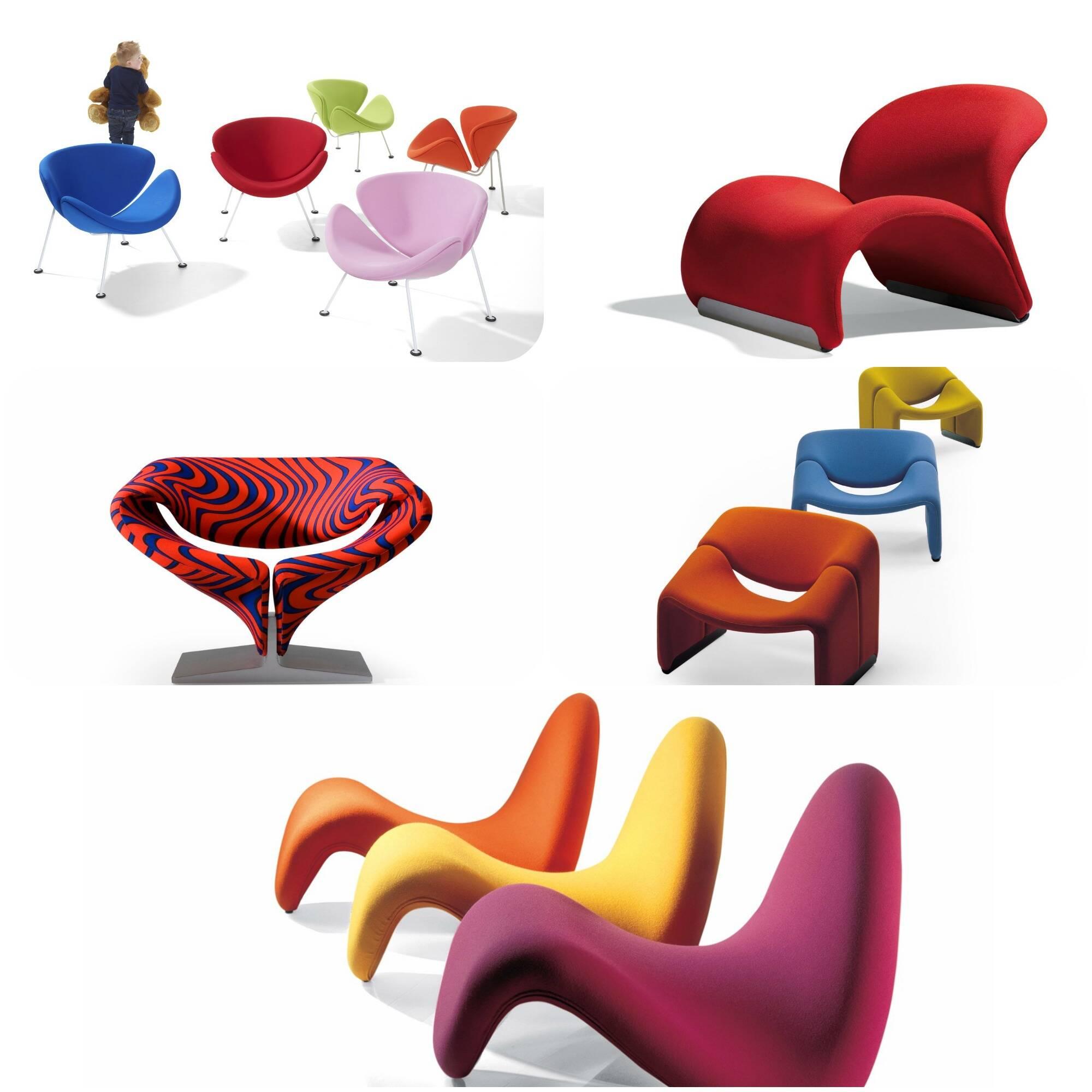 Pierre Paulin foi homenageado com uma exposição sobre o design francês, no Centre Georges Pompidou, em Paris