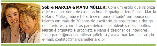MARCIA E MANU MULLER TARJA
