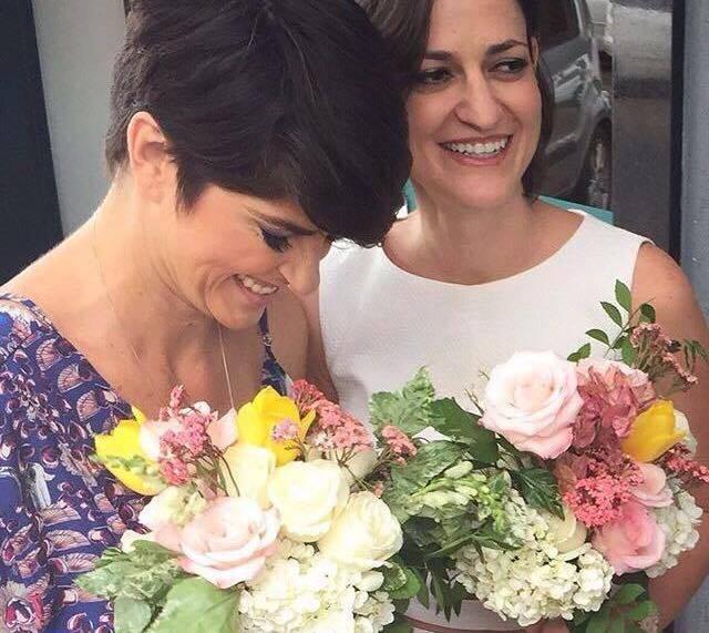 Narciza Leão e Dani Cronemberger: casadas em cartório nesta segunda-feira